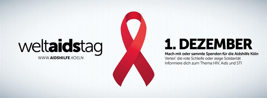 HIV-Zahlen für Köln:  123 Neu-Diagnosen 2015