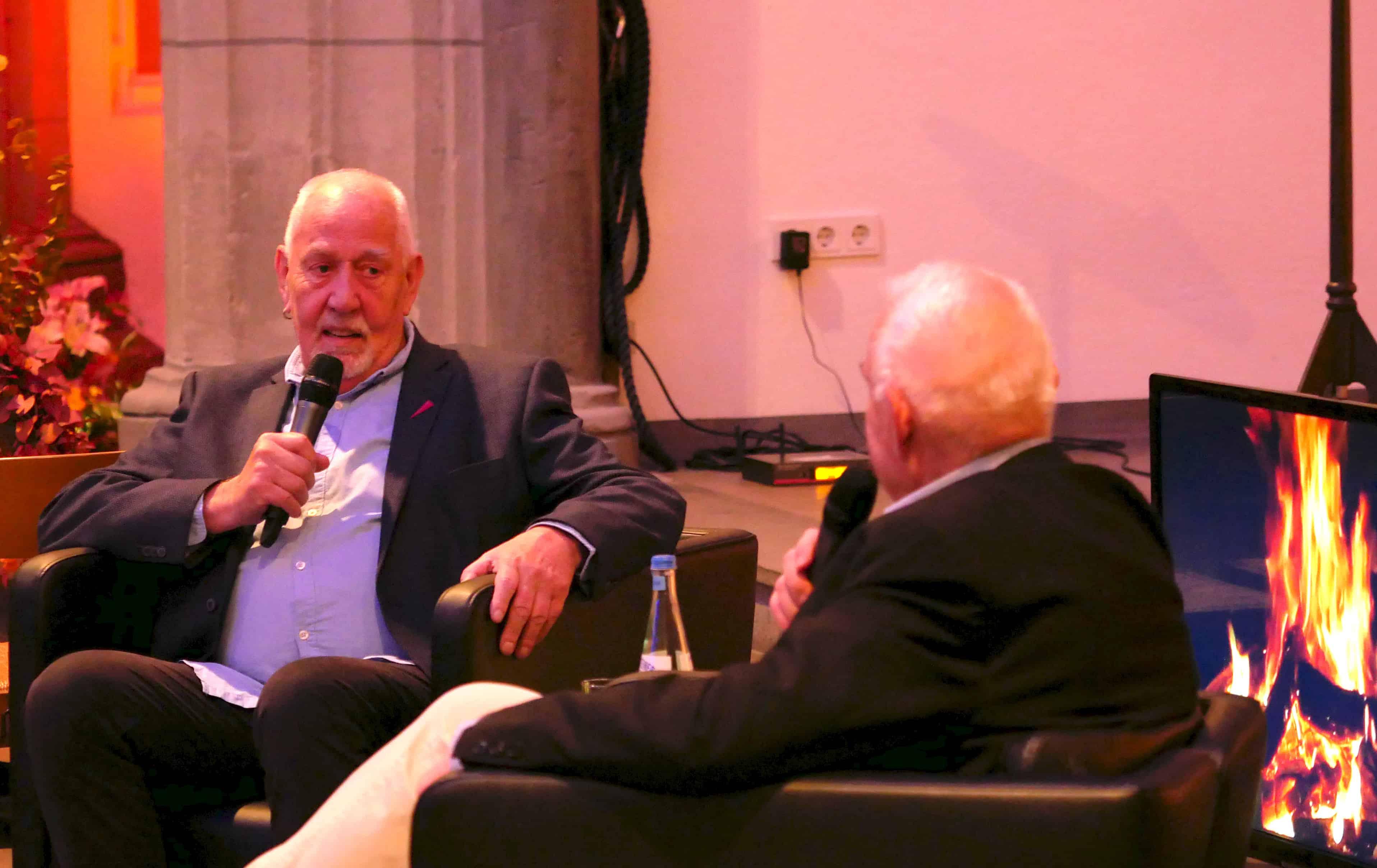 Neues Ehrenmitglied der Aidshilfe Köln: Rainer Ehlers