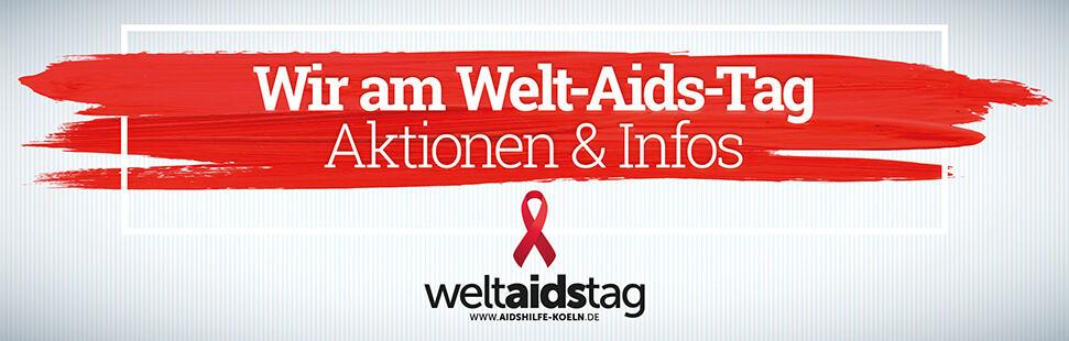 Wir am Welt-Aids-Tag – Aidshilfe Köln startet zahlreiche Aktionen am 01. Dezember