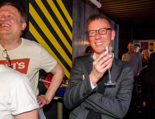 Aidshilfe Köln verabschiedet Felix Laue