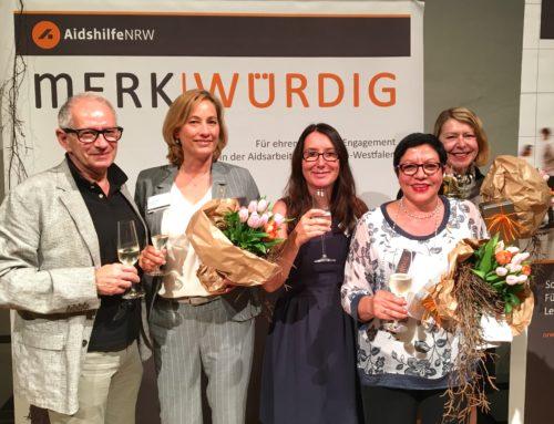 Auszeichnung für das Frauen- und Familienzentrum der Aidshilfe Köln