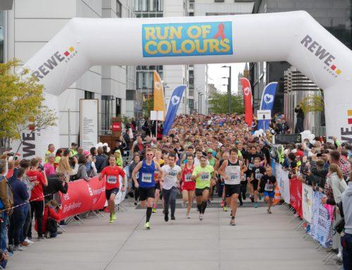 Neuer Teilnehmerrekord beim Run of Colours