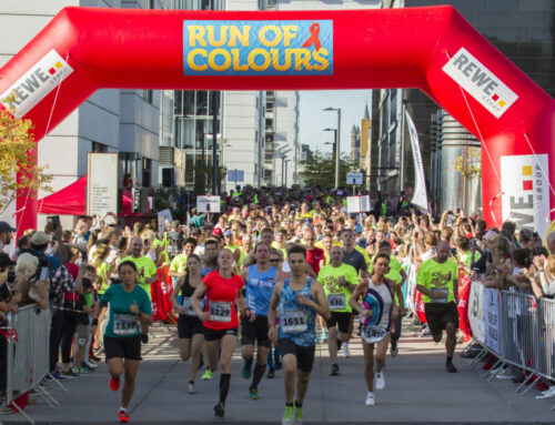 Ob virtuell oder real – Run of Colours ist für alle offen