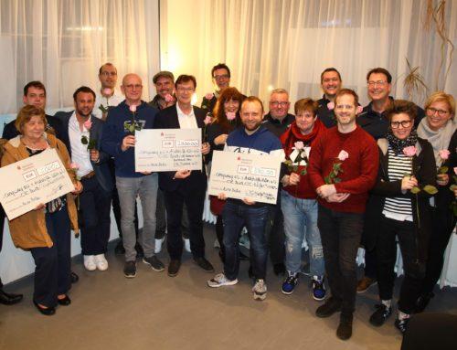 Aidshilfe Köln und anyway erhalten 10.000 Euro vom Come-Together-Cup