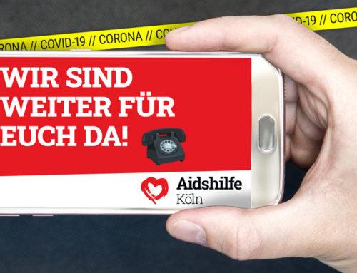 Aidshilfe Köln hält die Betreuung der Menschen aufrecht