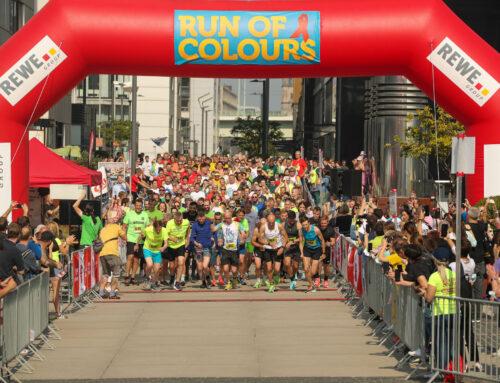 Endlich wieder ein richtiger Lauf – Teilnehmende genießen Run of Colours
